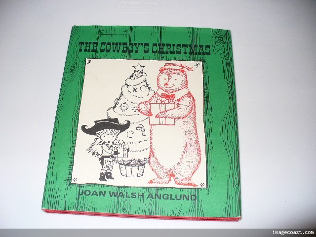 THE COWBOY'S CHRISTMAS Joan Walsh Anglung 1st ED 1972
